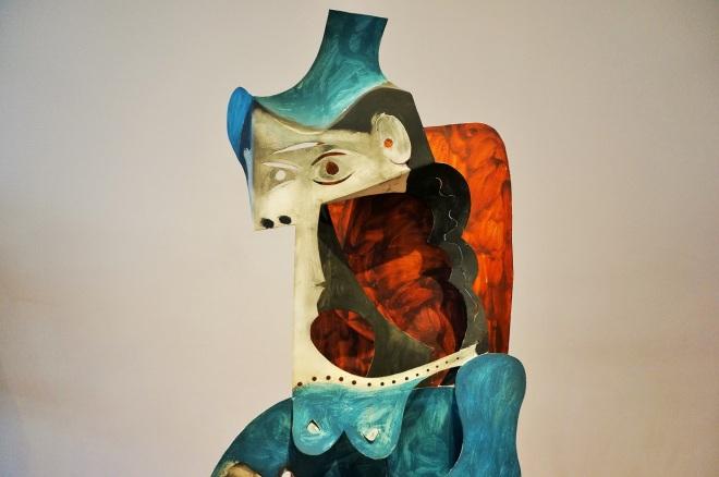 """Pablo Picasso, """"Kobieta w kapeluszu"""", 1961/1963"""