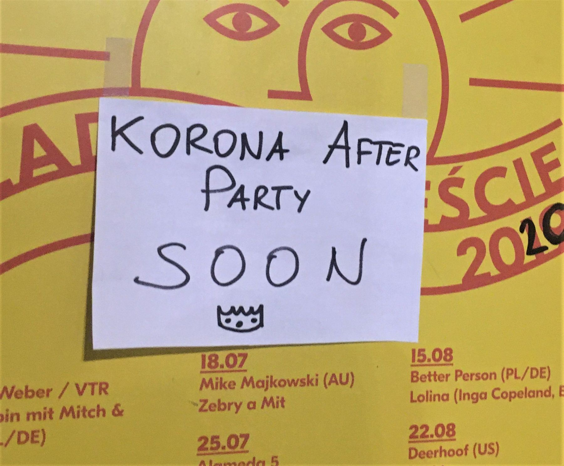 korona after party